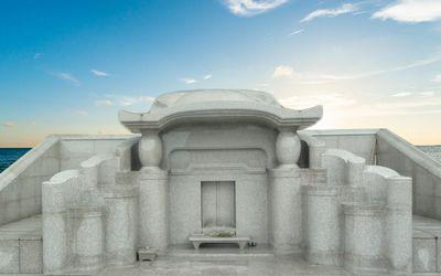 亀甲型の沖縄墓